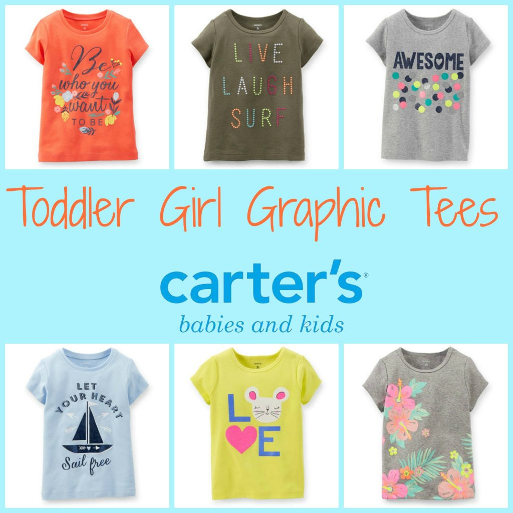 Graphic Tees at Carter's