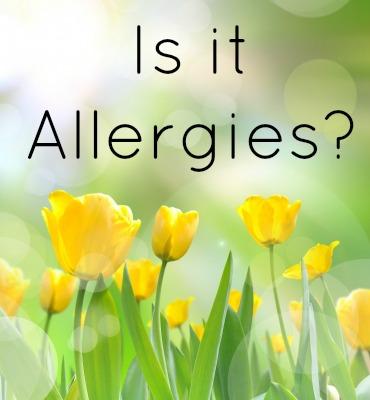Is it Allergies