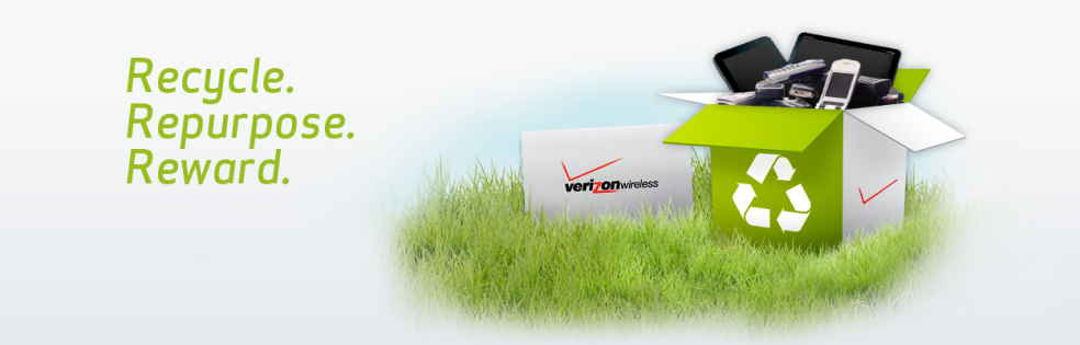 Recycle with Verizon