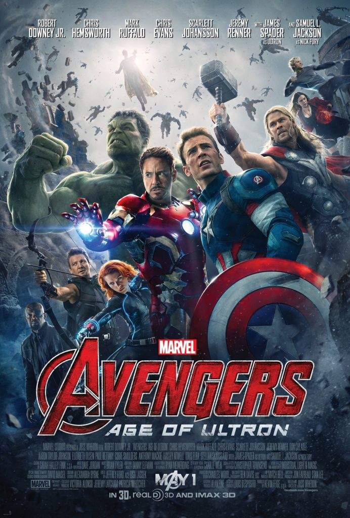 Avengers: Age of Ultron is in Theaters May 1st