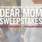 Share Your Mother's Day Love in California Pizza Kitchen's #CPKDearMomSweeps