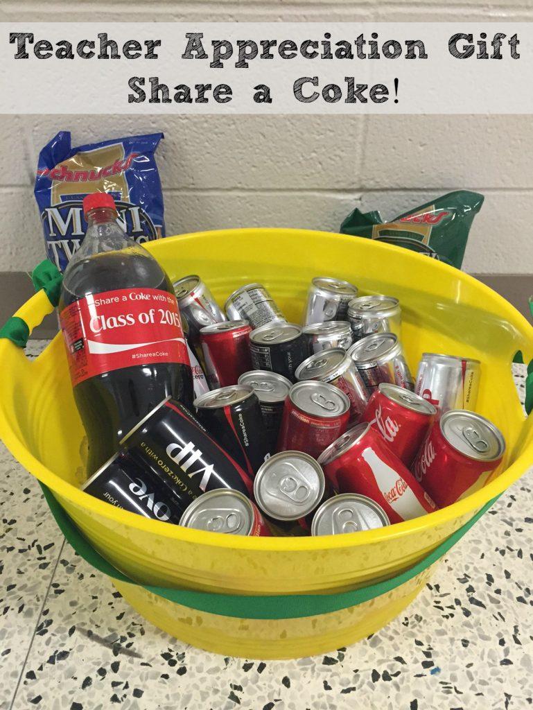 Teacher Appreciation Gift - Share a Coke