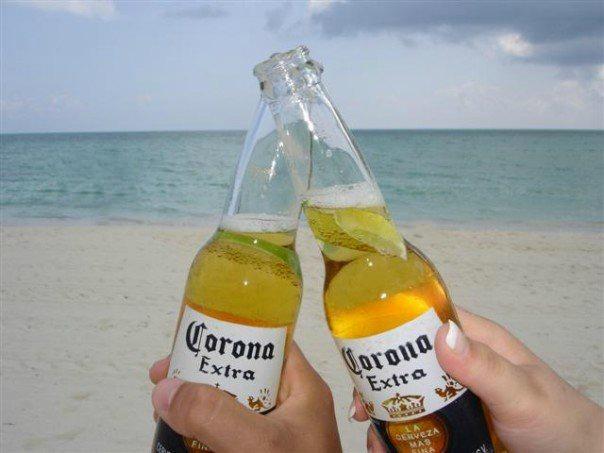 Corona on the Beach