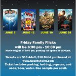Grant's Farm Family Flicks Night in June