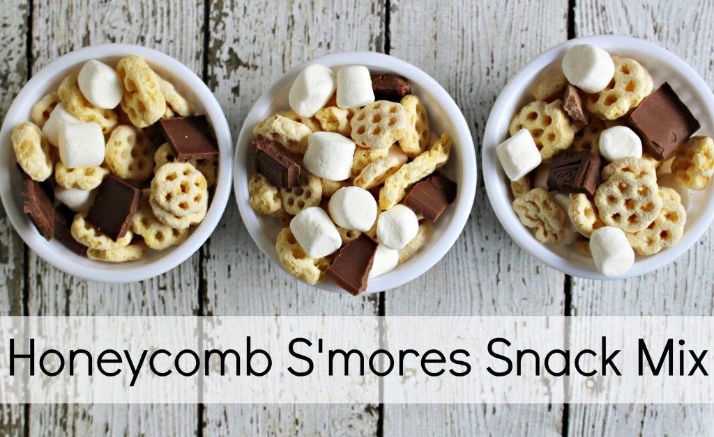 Honeycomb Smores Snack Mix