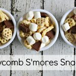 Honeycomb S'mores Snack Mix