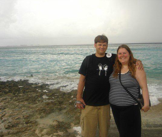 Our honeymoon in 2006!