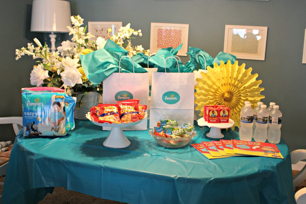 Pampers Easy Ups Party