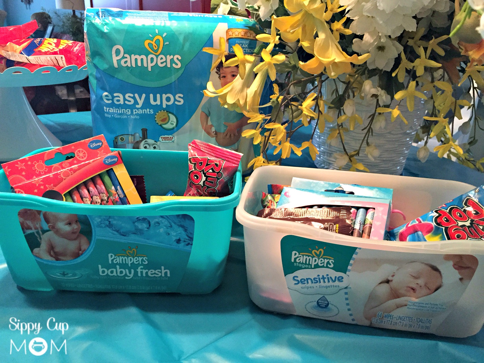 Encourage Potty Training With A Pampers Easy Ups Party