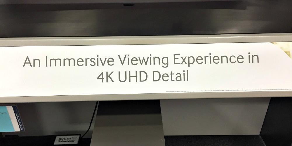 Samsung TV Detail