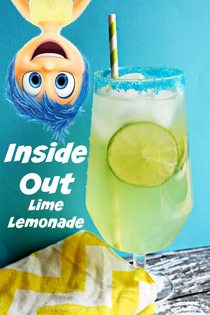 Inside Out Lime Lemonade