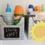 DIY Sunscreen and Bug Spray Center