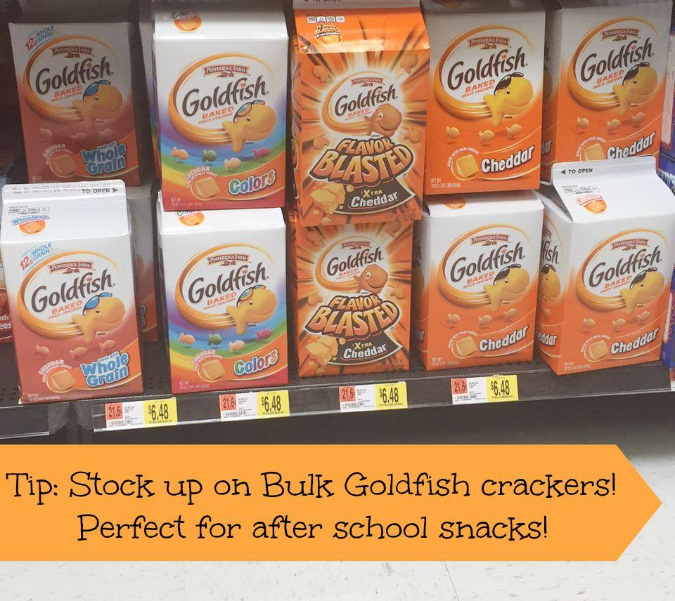 Bulk Goldfish Crackers