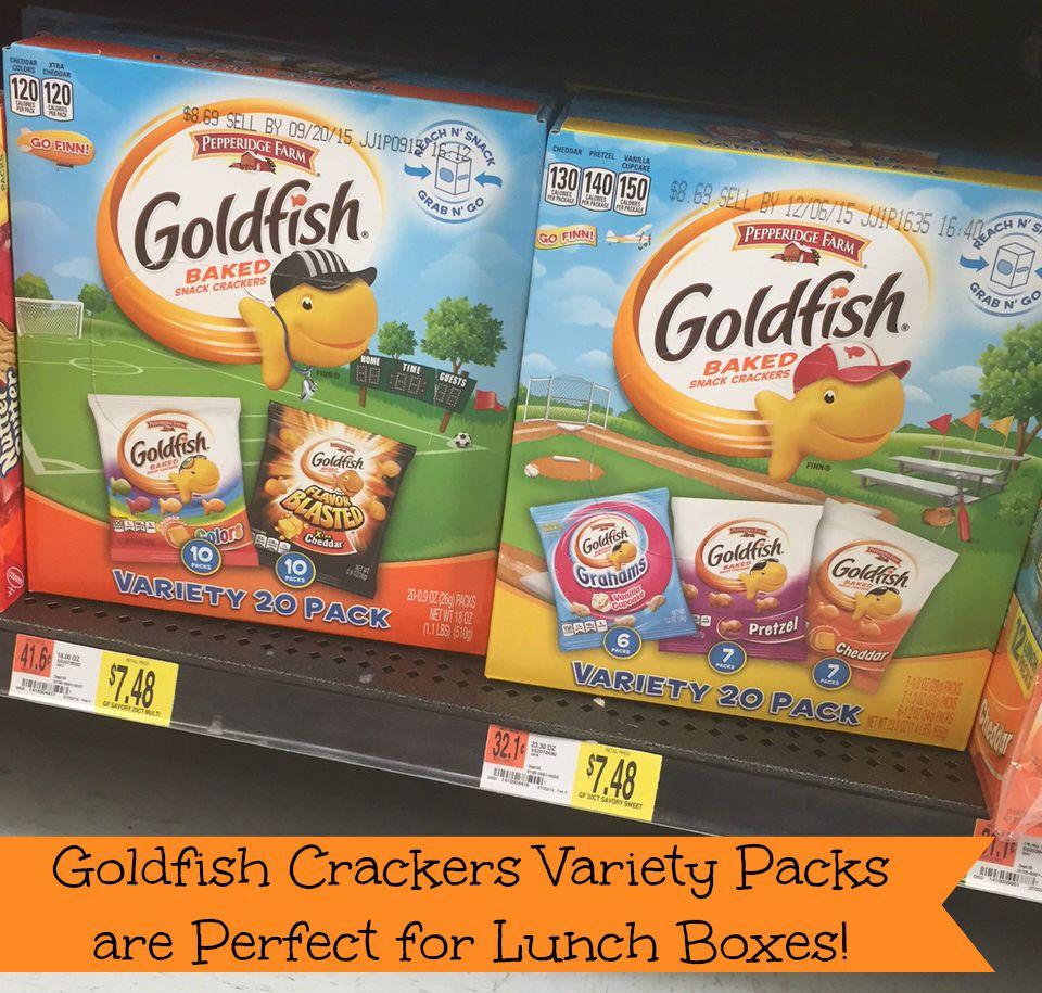 Goldfish Packets