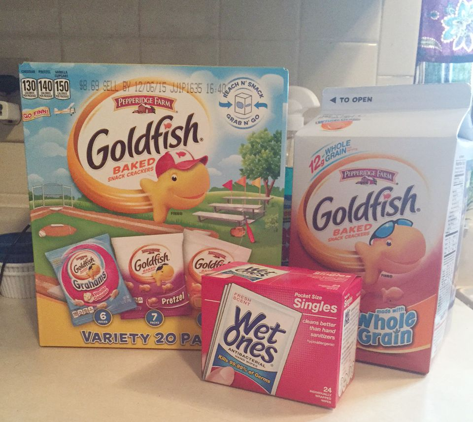 Goldfish and Wet Ones Singles