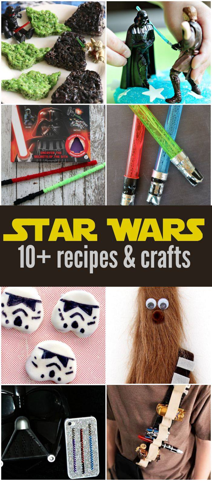 10+ Star Wars Crafts and Recipes #ForceFriday