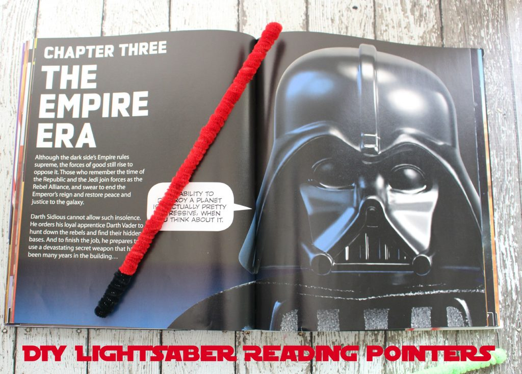 DIY Lightsaber Reading Pointers 2