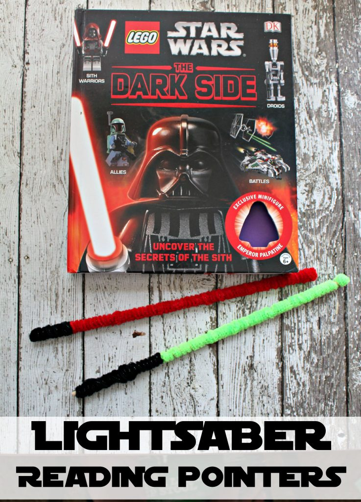 DIY Lightsaber Reading Pointers