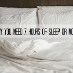 Why You Need 7 Hours of Sleep or More + $50 Giveaway