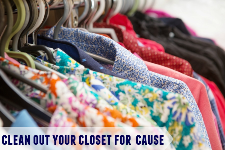 Clean Out Your Closet for a Cause