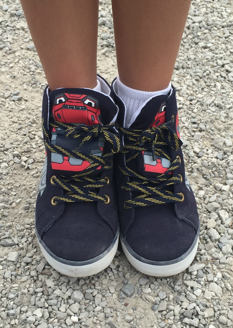 Dinotrux Shoes