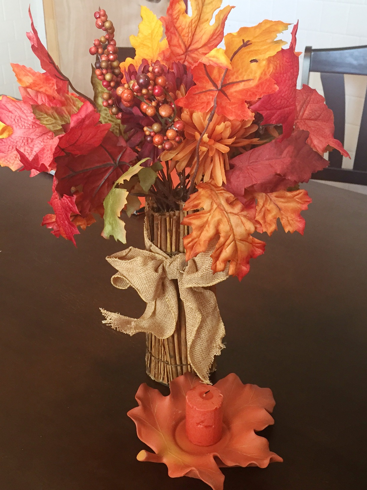 Here Today Fall Vase