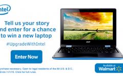 Win an Intel Laptop from Walmart!
