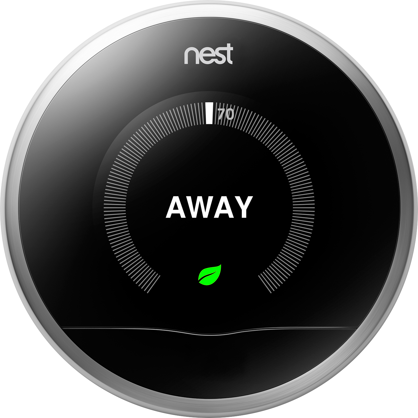 Nest Thermostat Away