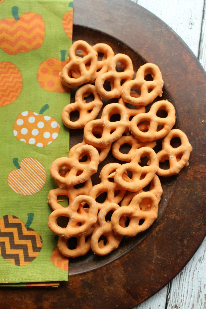 Chocolate Covered Pumpkin Spice Pretzels Sippy Cup Mom