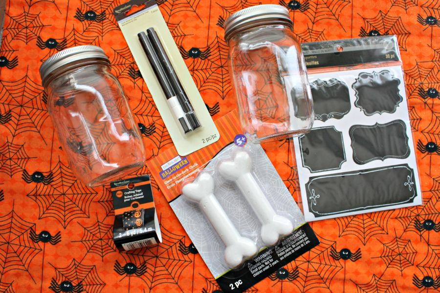 Supplies for Halloween Dog Treats