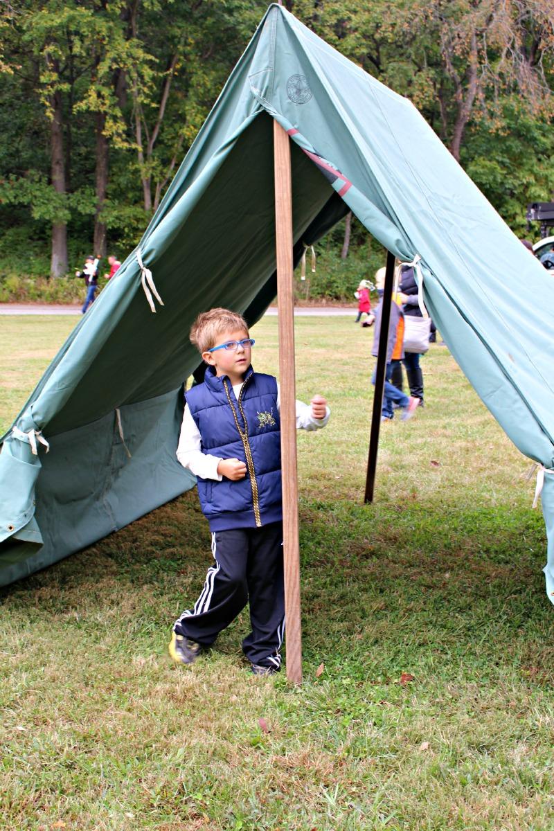 Boy Scouts Tent