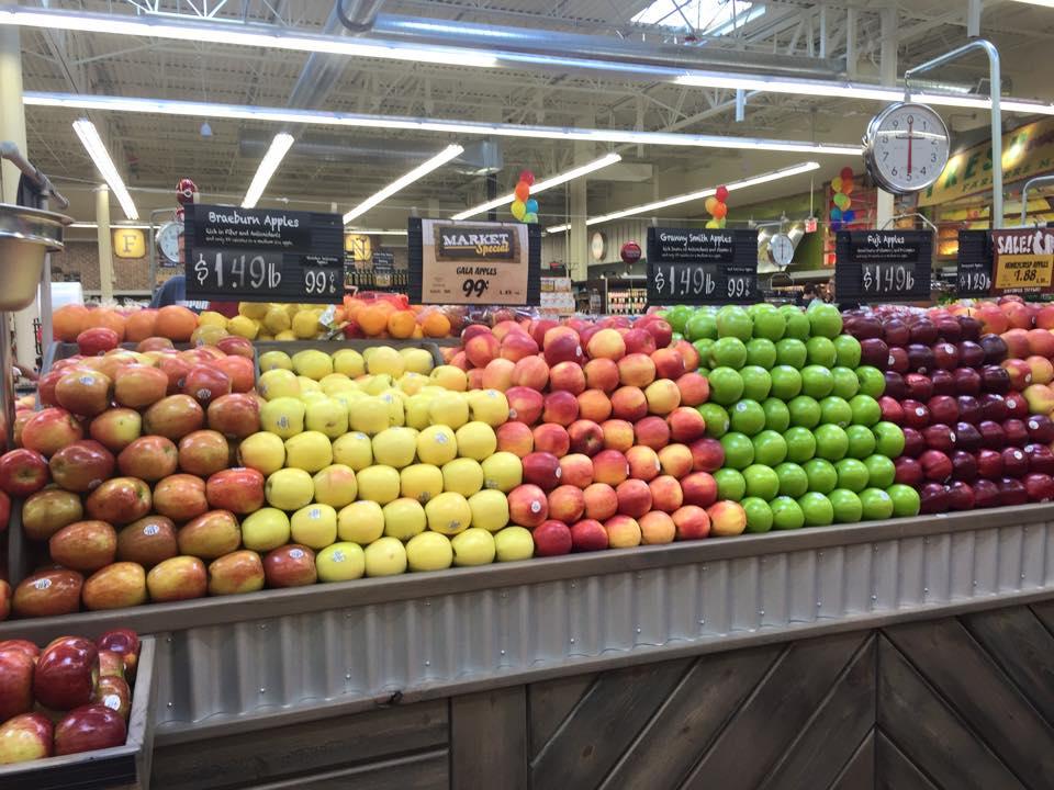 Fresh Thyme Fruit Display