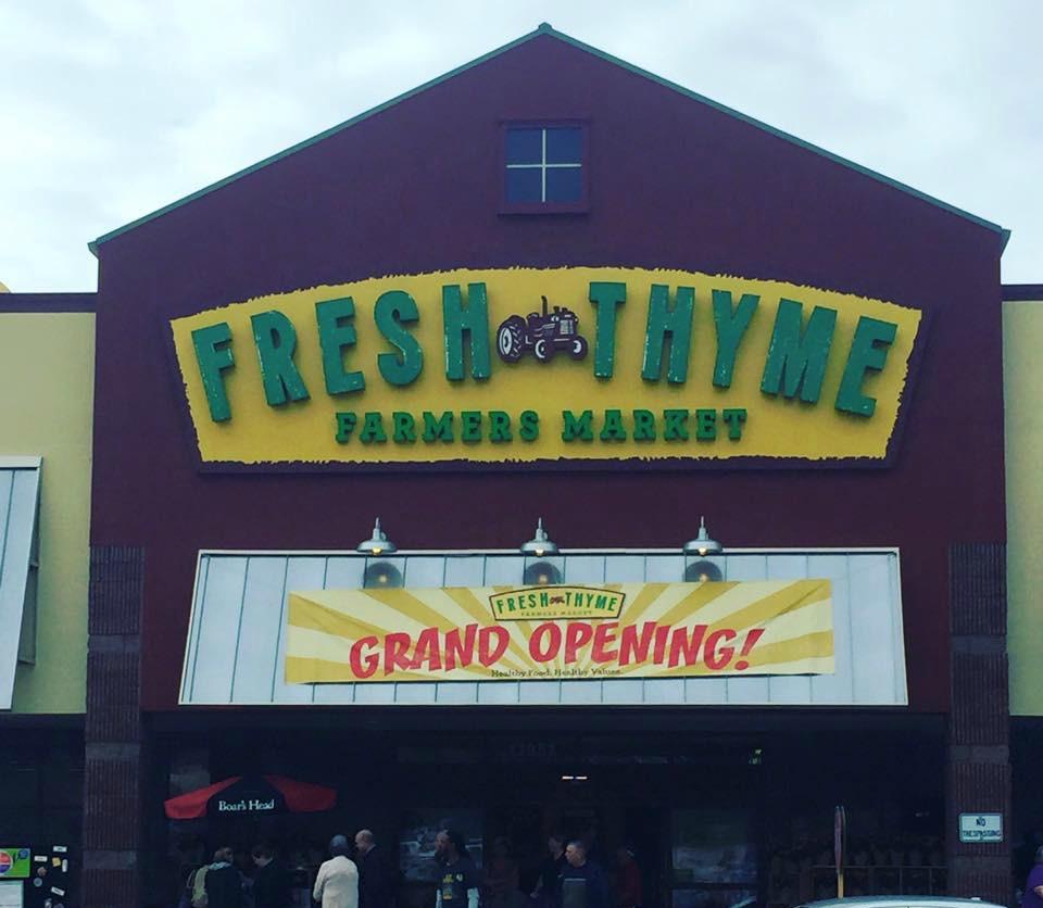 Fresh Thyme Grand Opening