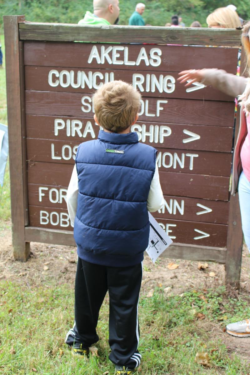 Hayden Boy Scouts Sign