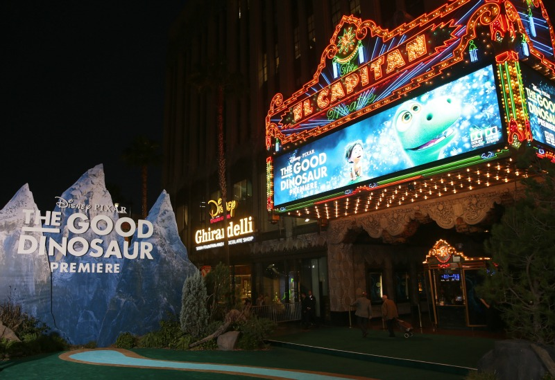 The Good Dinosaur Premiere