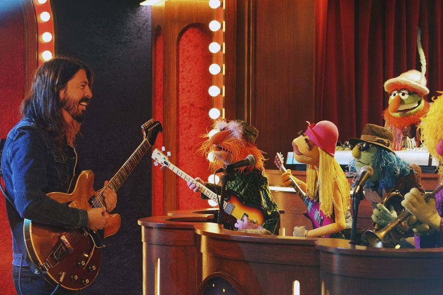 Dave Grohl and Animal