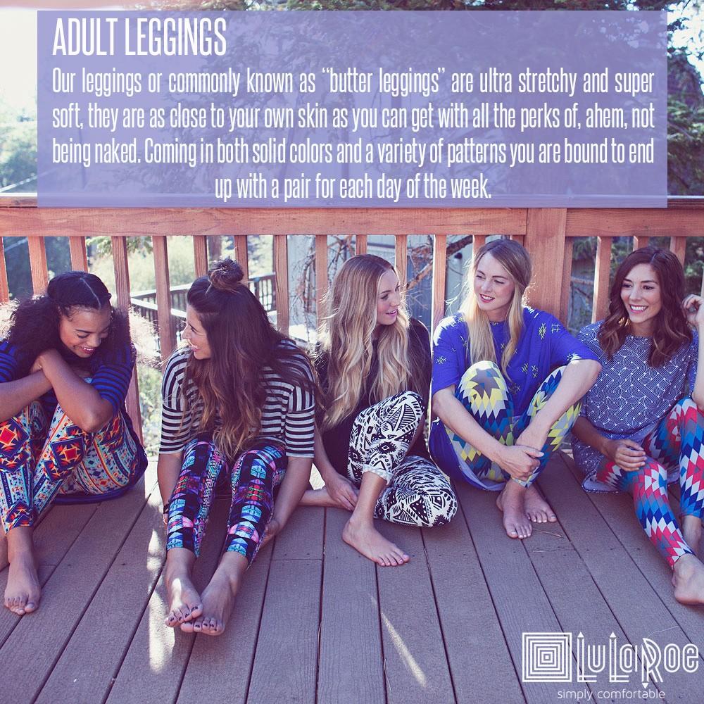 Adult Leggings Description