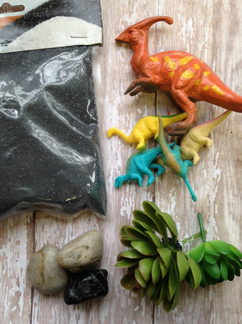 DIY Dinosaur Dig Craft Supplies