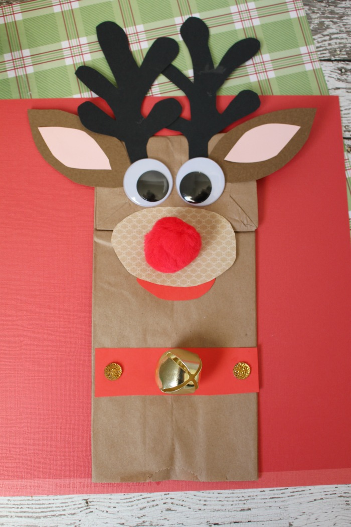 Rudolph Paper Bag Craft