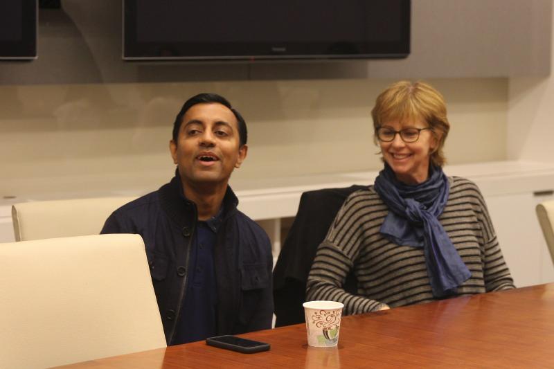 Sanjay & Nicole 1