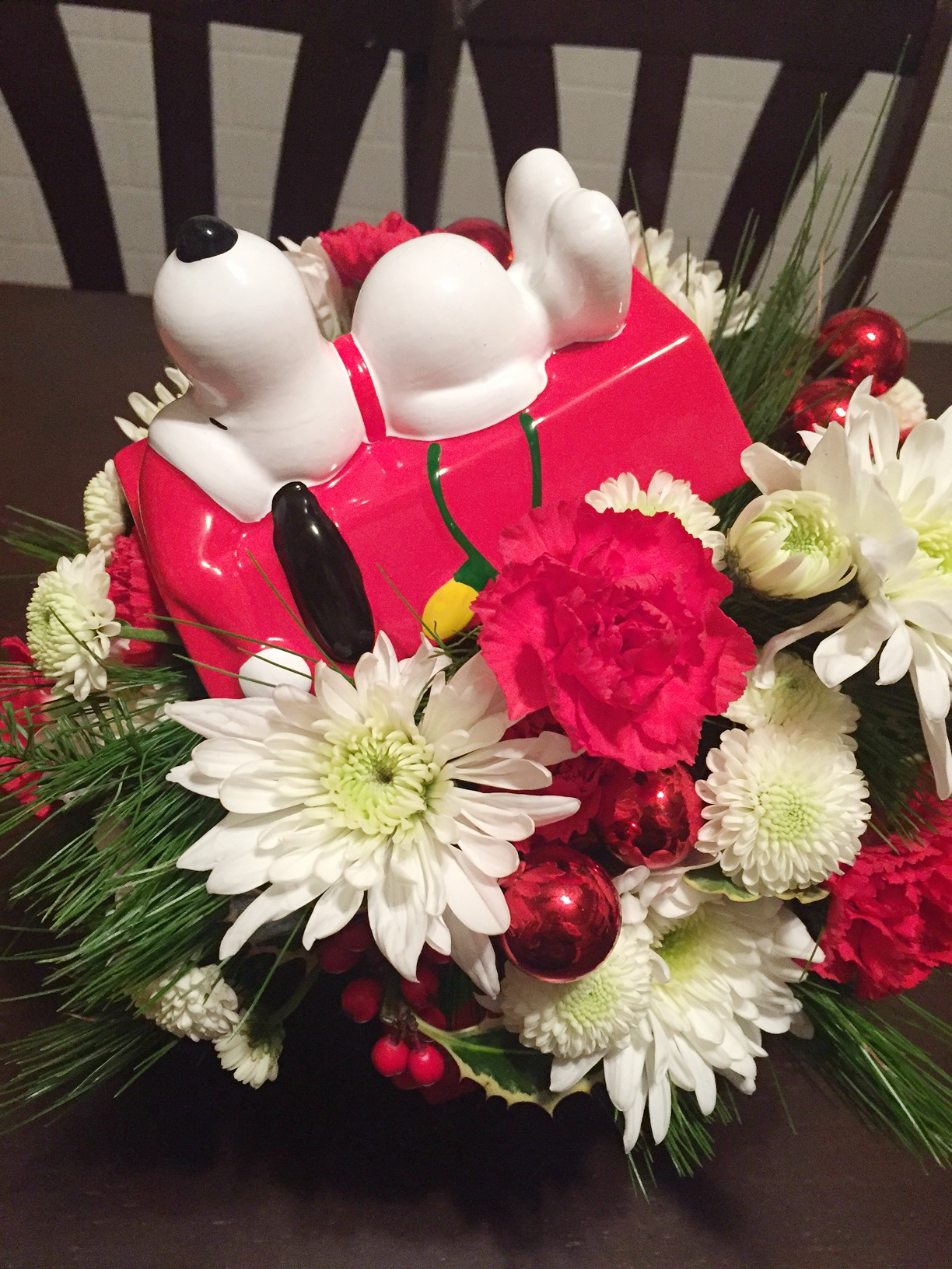 Snoopy Flowers from Teleflora