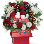 Celebrate the Holidays with Teleflora and Charlie Brown!