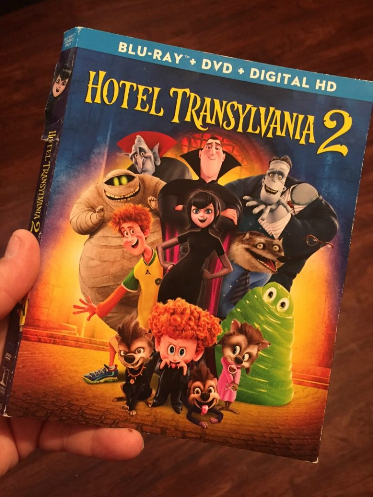Hotel Transylvania 2 Blu-ray