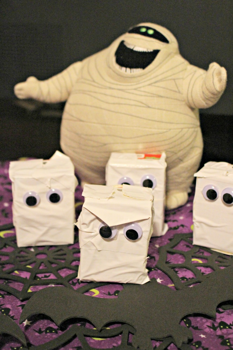 Murray the Mummy Juice Boxes