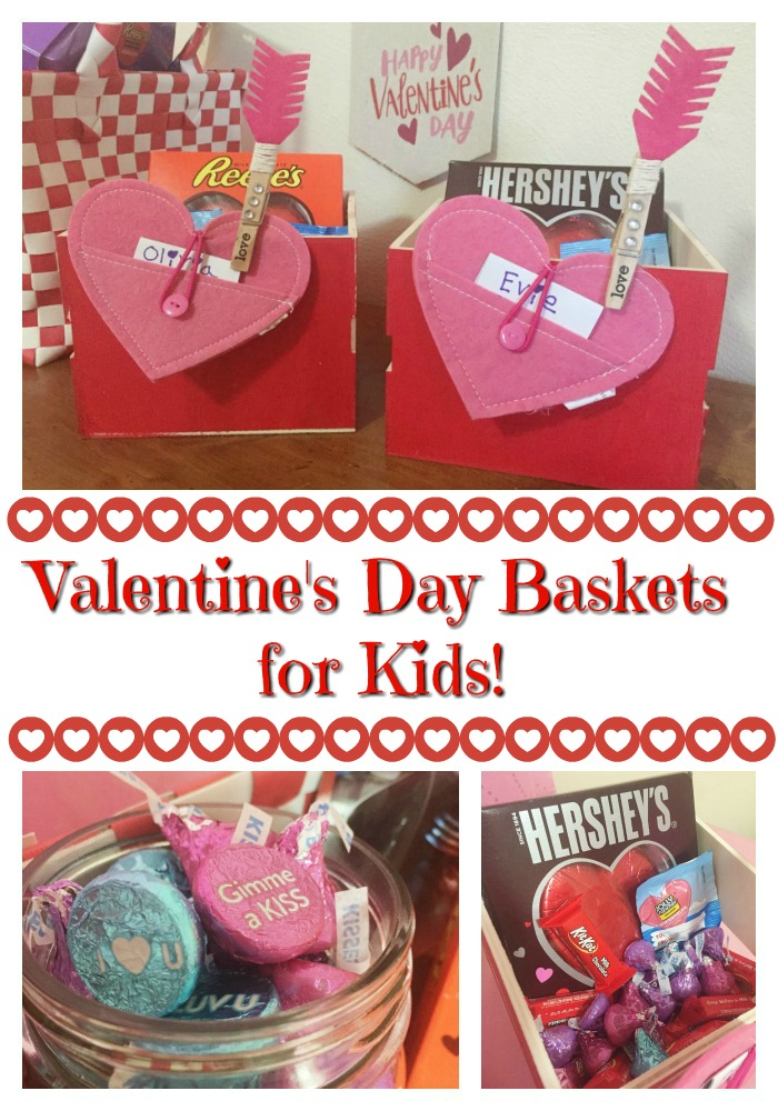 Valentine's Day Baskets for Kids