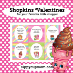 Free Printable Shopkins Valentine's Day Cards