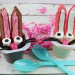 Easter Bunny Snack Pack Pudding Treats