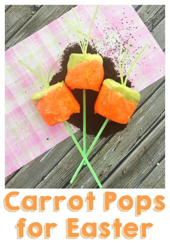 Carrot Pops for Easter