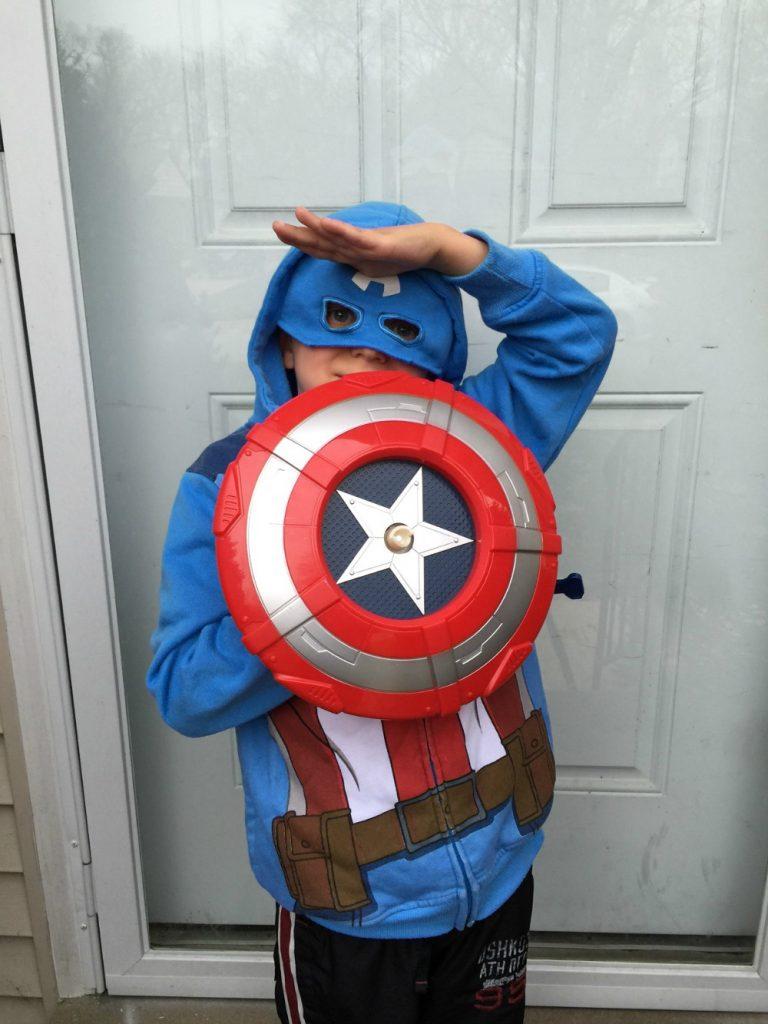 Hayden Captain America