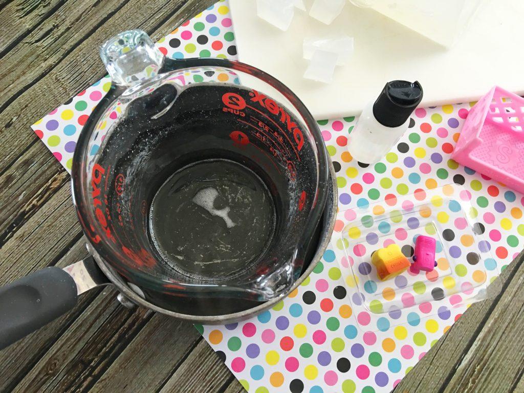 Make Shopkins Soap
